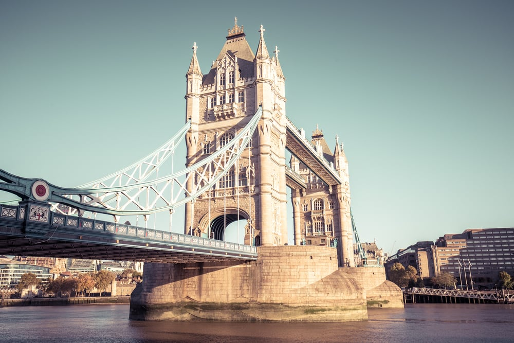 Tower Bridge - London i England