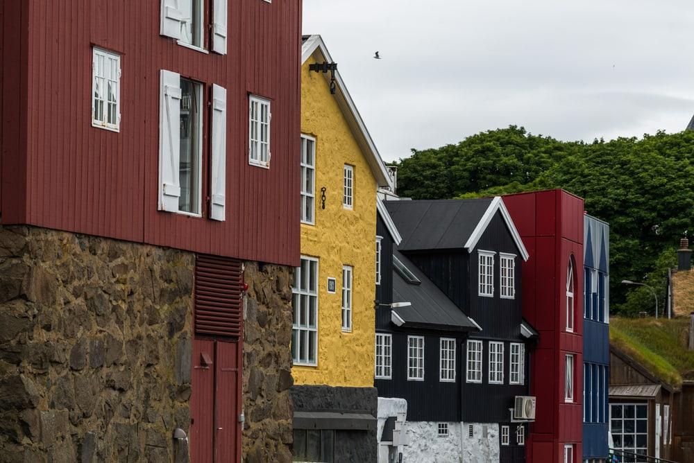 Traditionelle huse på Færøerne