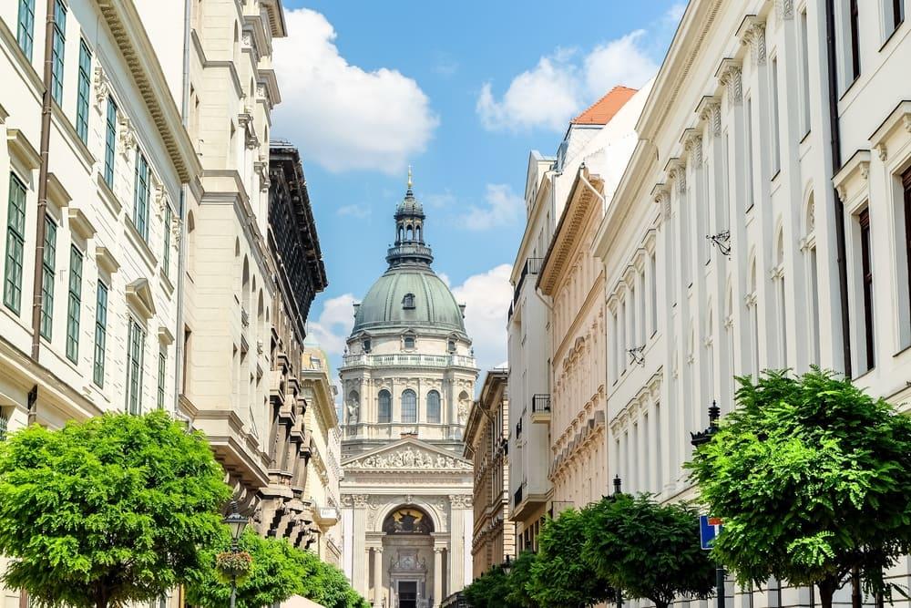 Ungarns hovedstad Budapest