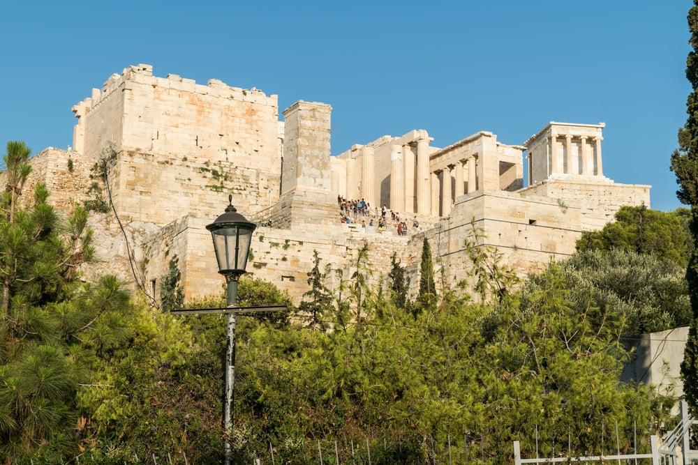 Akropolis - Athen i Grækenland