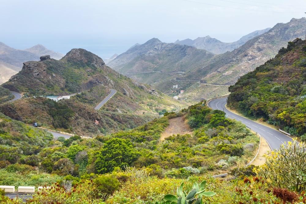 Anaga bjergene - Tenerife i Spanien