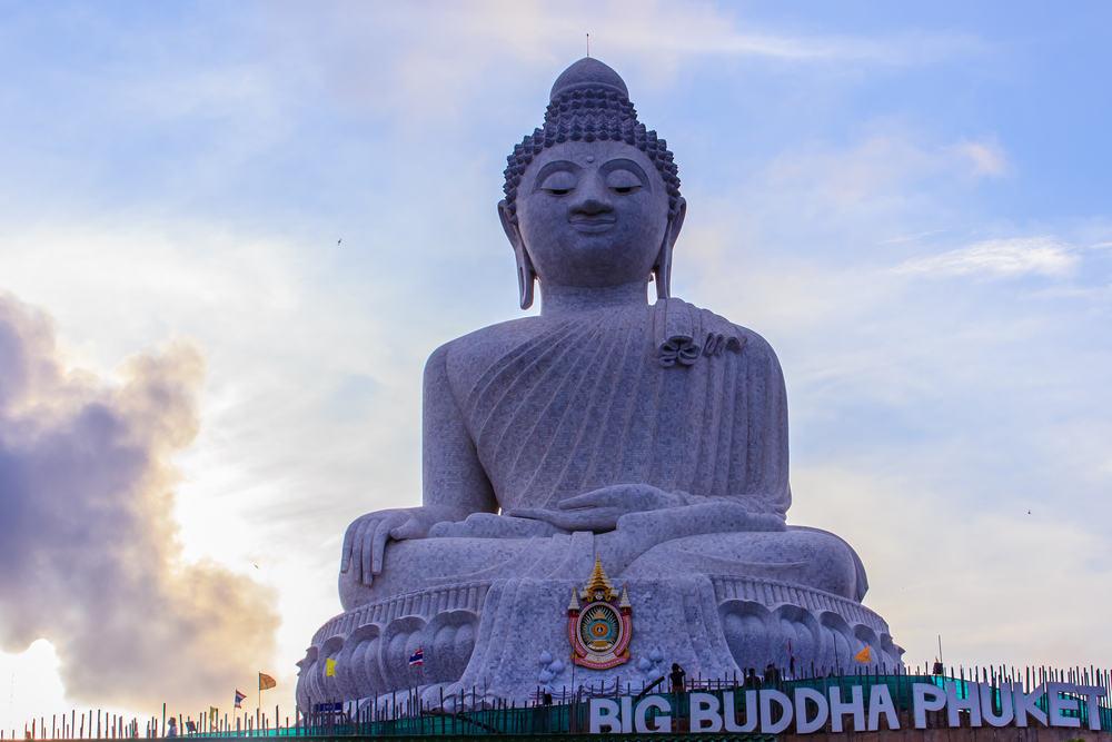 Buddha statue - Phuket i Thailand