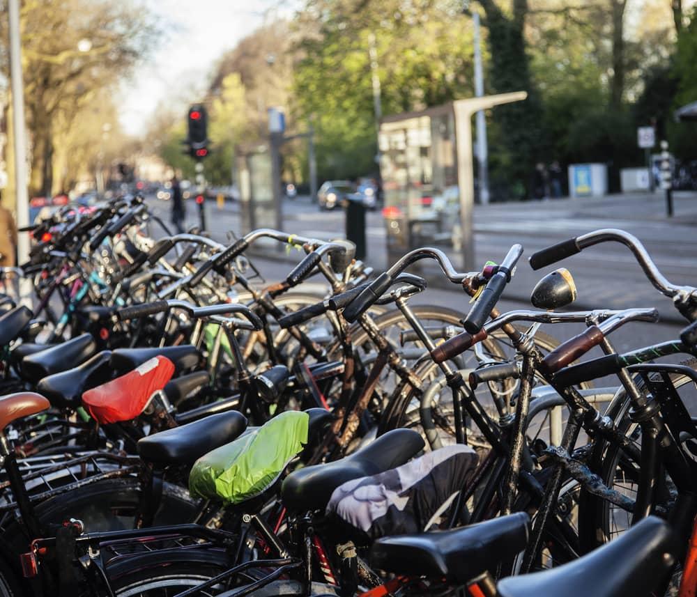 Amsterdam er cyklernes by