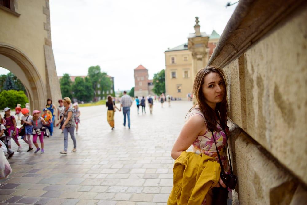 Turister i Krakow