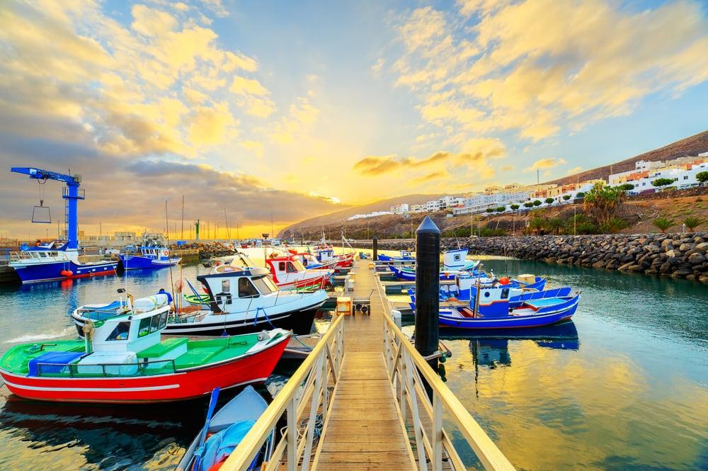 Gran Tarajal - Fuerteventura i Spanien