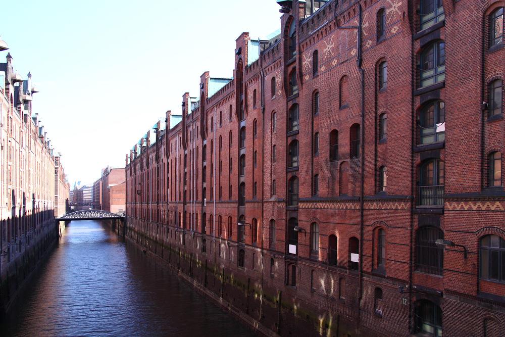 Hamborg i Tyskland