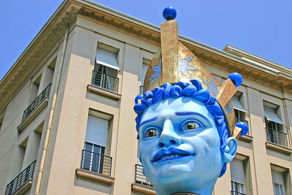 Karneval i Nice i Frankrig 2017