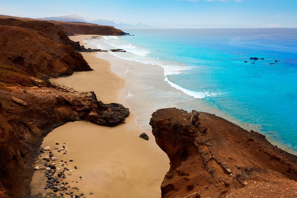 La Pared stranden - Fuerteventura i Spanien