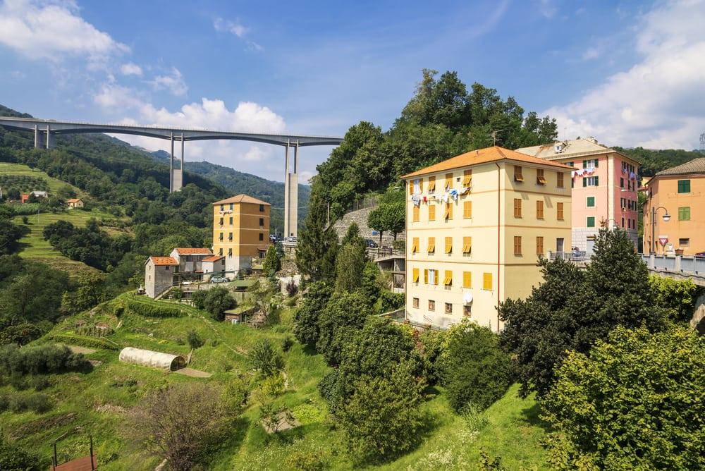 Ligurien i Italien
