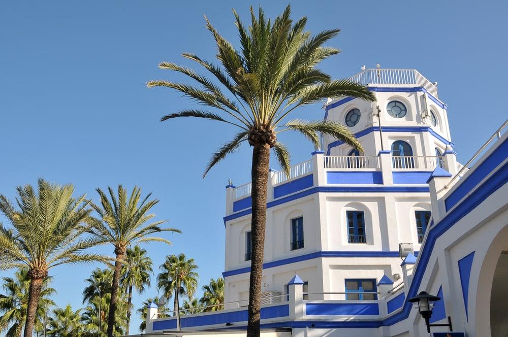 Marina of Estepona - Malaga i Spanien