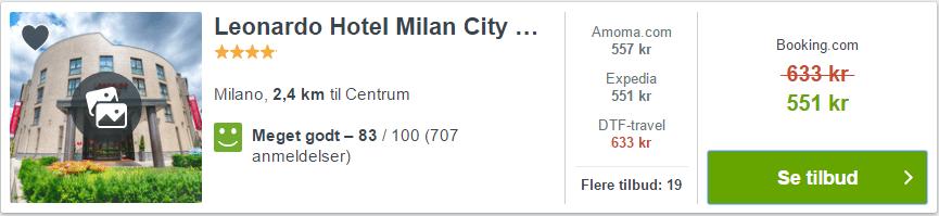 Leonardo Hotel Milan City Center - Milano i Italien