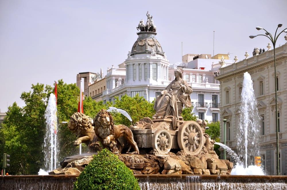 Plaza de Cibeles - Madrid i Spanien