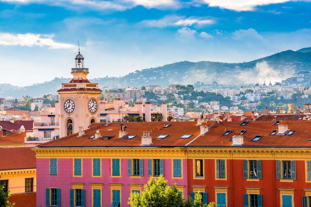 Port Lympia - Nice i Frankrig