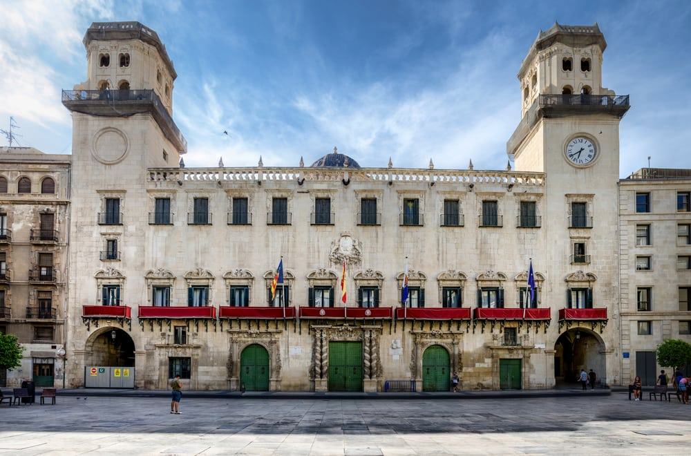 Rådhuset i Alicante - Spanien