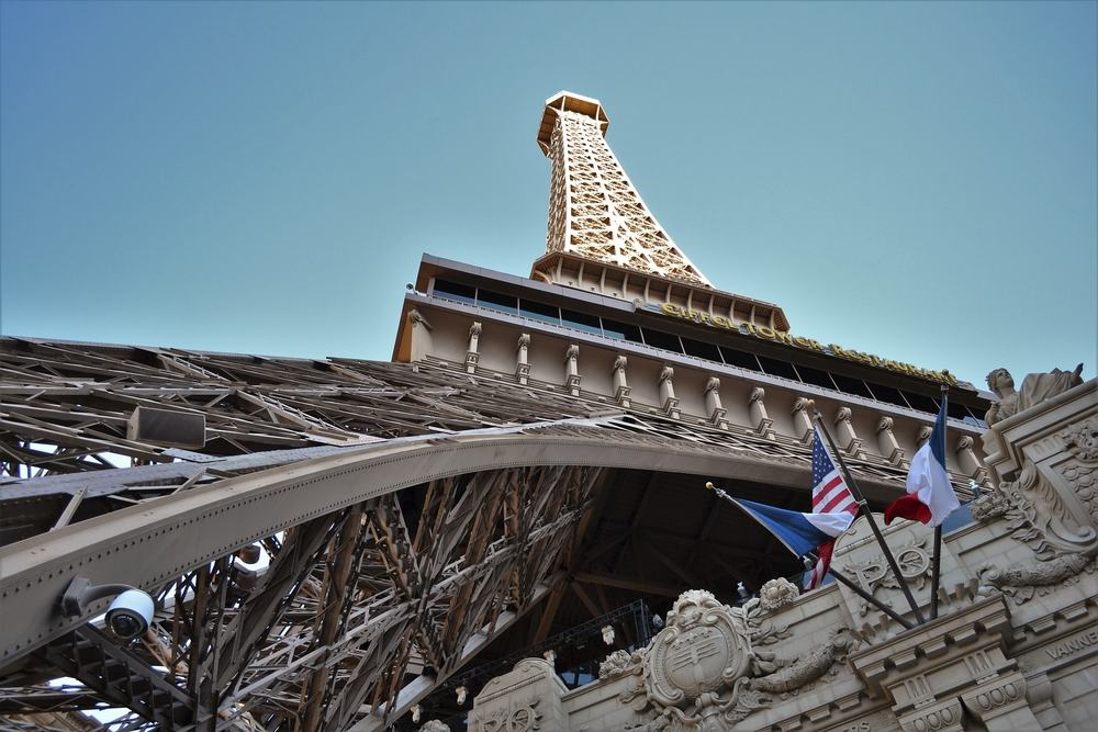 Replika af Eiffeltårnet - Las Vegas