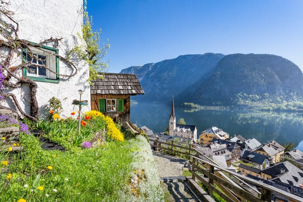 Salzkammergut i Østrig