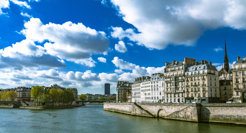 Seinen i Paris i Frankrig