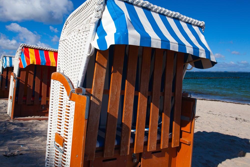 Strandstole - Rügen i Nordtyskland
