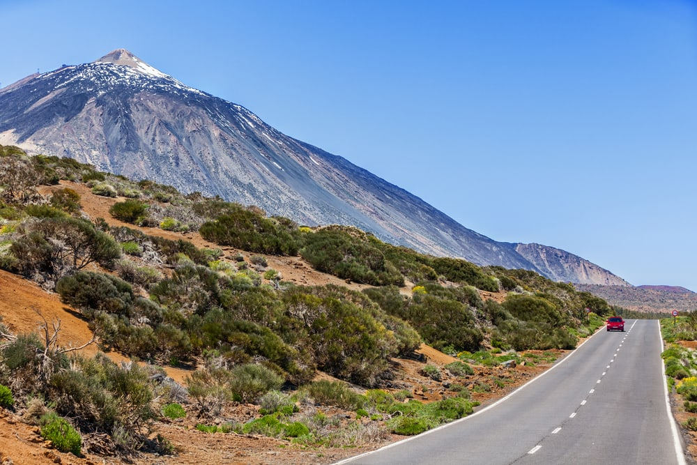 Tenerife i Spanien