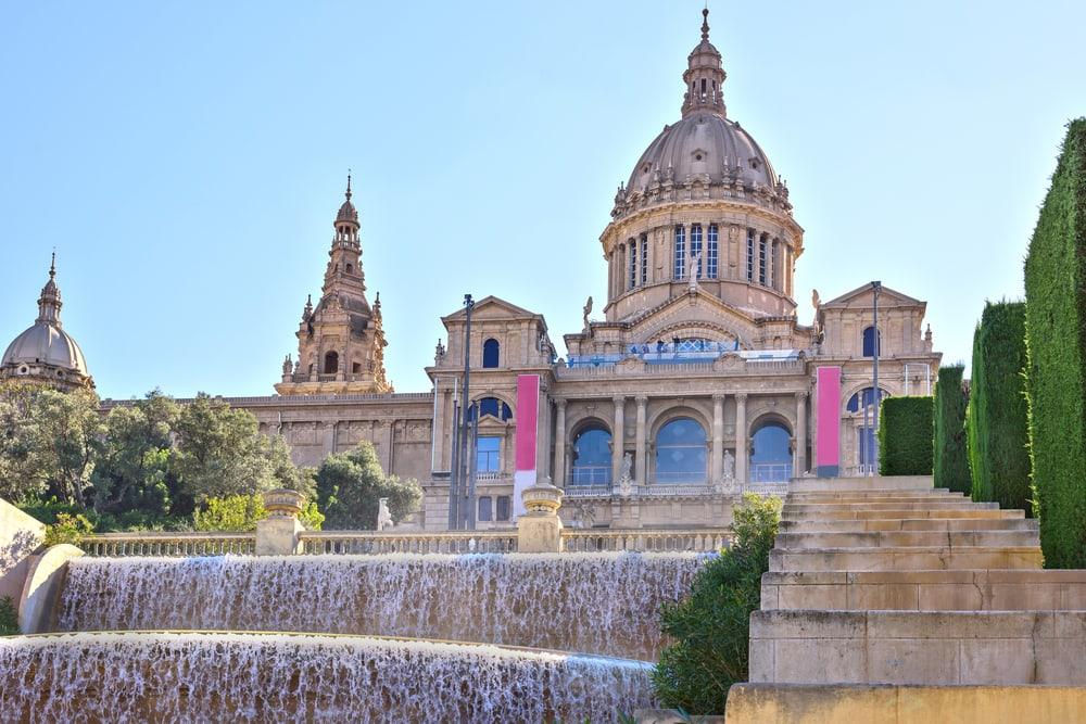 Barcelona i Spanien