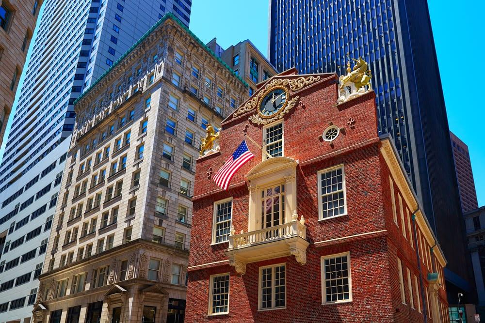 Boston i Massachusetts - USA