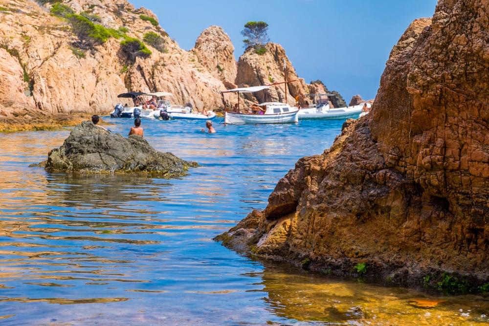 Cala Aigua Xelida - Costa Brava i Spanien