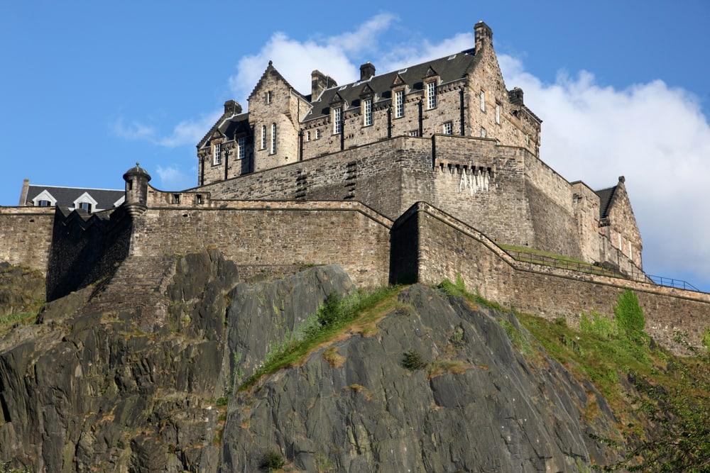 Edinburgh Castle - Edinburg i Skotland