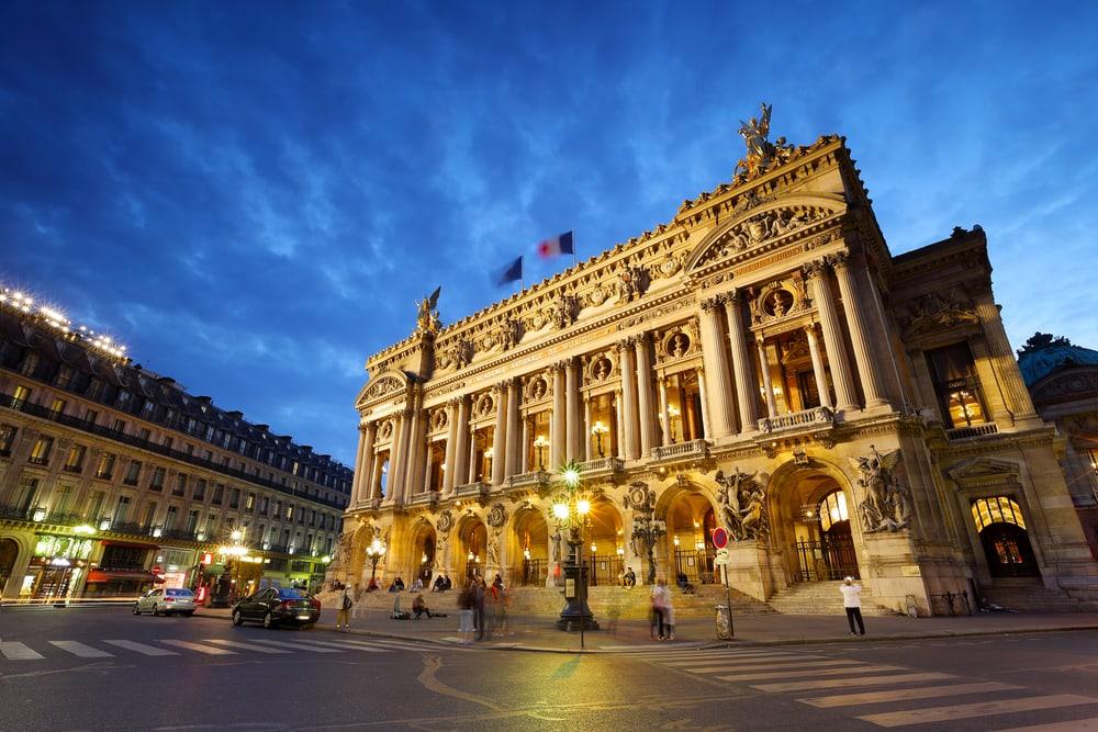 Garnier Operaen - Paris i Frankrig
