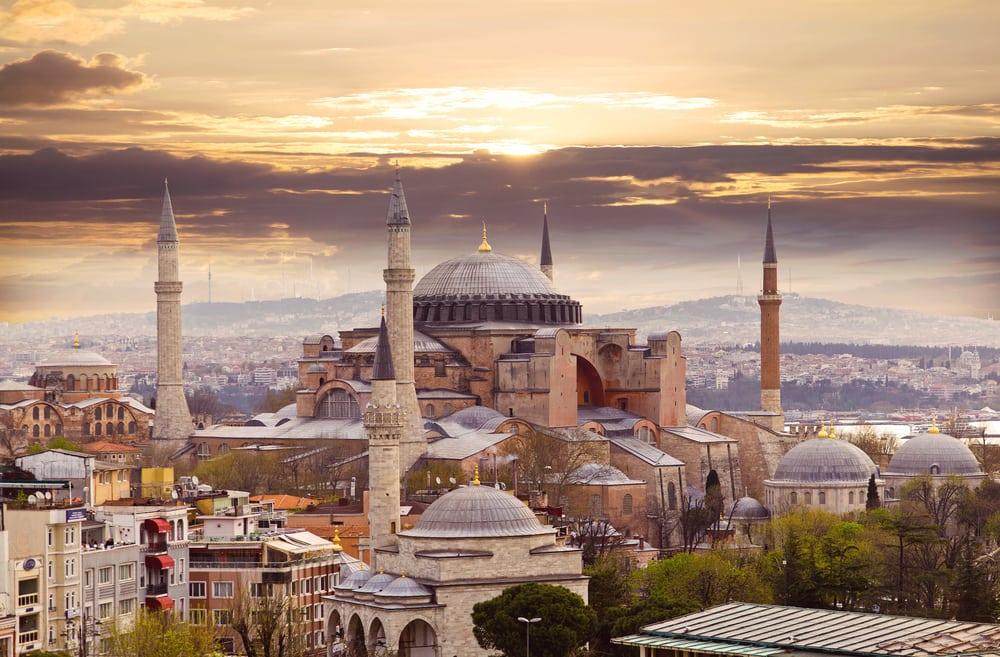 Hagia Sophia - Istanbul i Tyrkiet