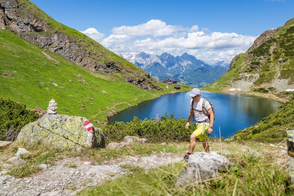 Hiking i alperne - Tyrol i Østrig