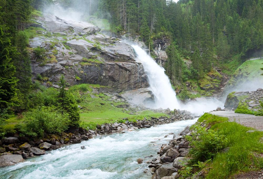 Krimml vandfaldet - Tyrol i Østrig