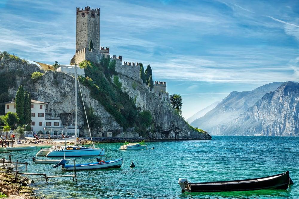 Malcesene - Gardasøen i Italien