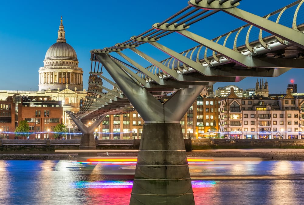 Millennium Bridge - London i England