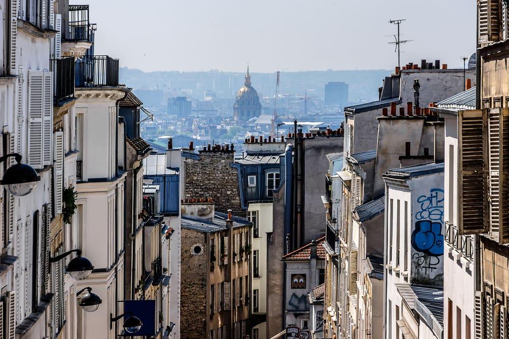 Montmatre - Paris i Frankrig