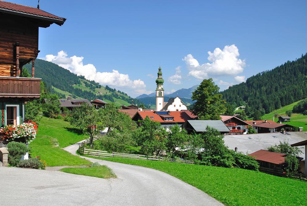 Oberau - Tyrol i Østrig