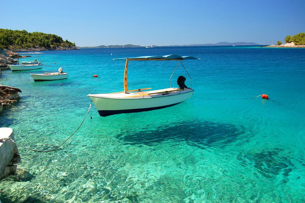 Øen Brac i Kroatien
