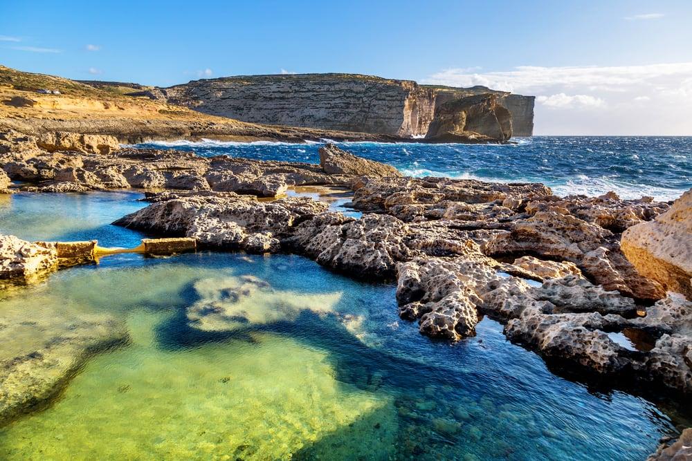Øen Gozo - Malta i Spanien