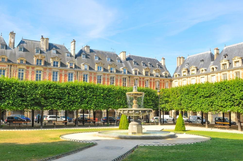 Place Royale - Paris i Frankrig