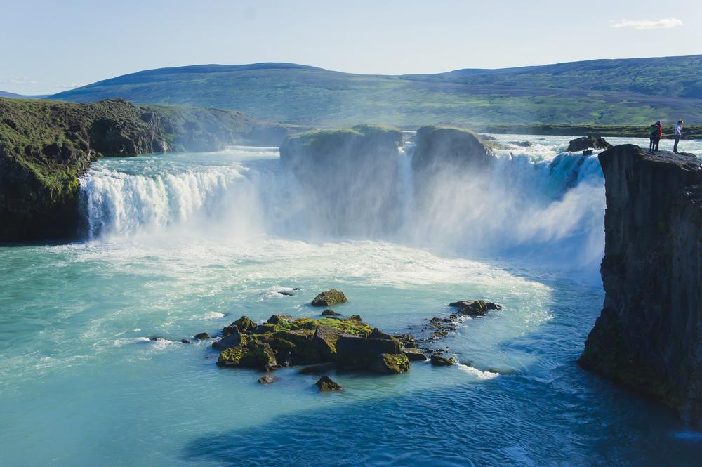 Vandfald i Island