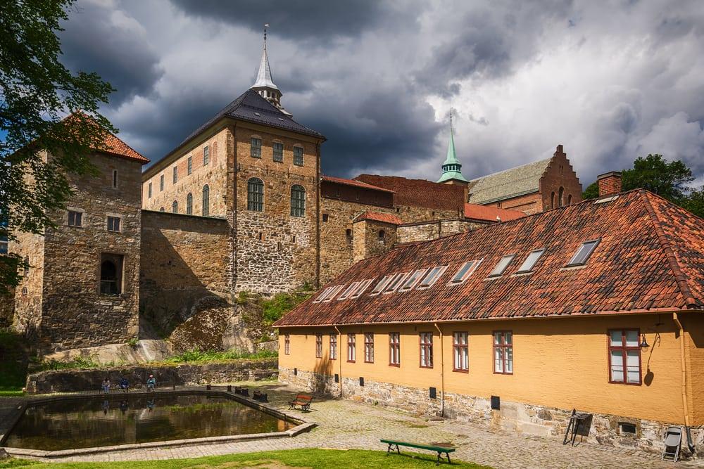Akershus fortet - Oslo i Norge
