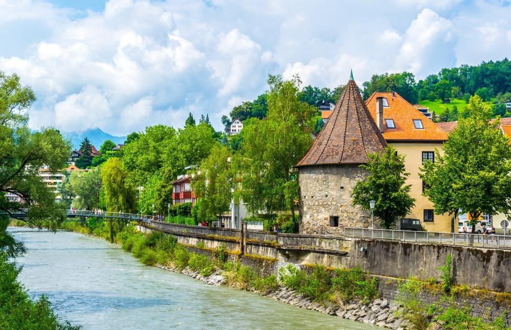 Feldkirch i Østrig