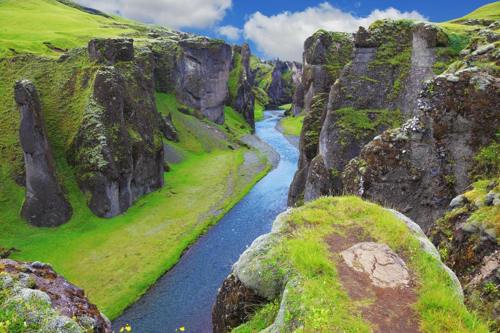 Fjadrargljufur - Island