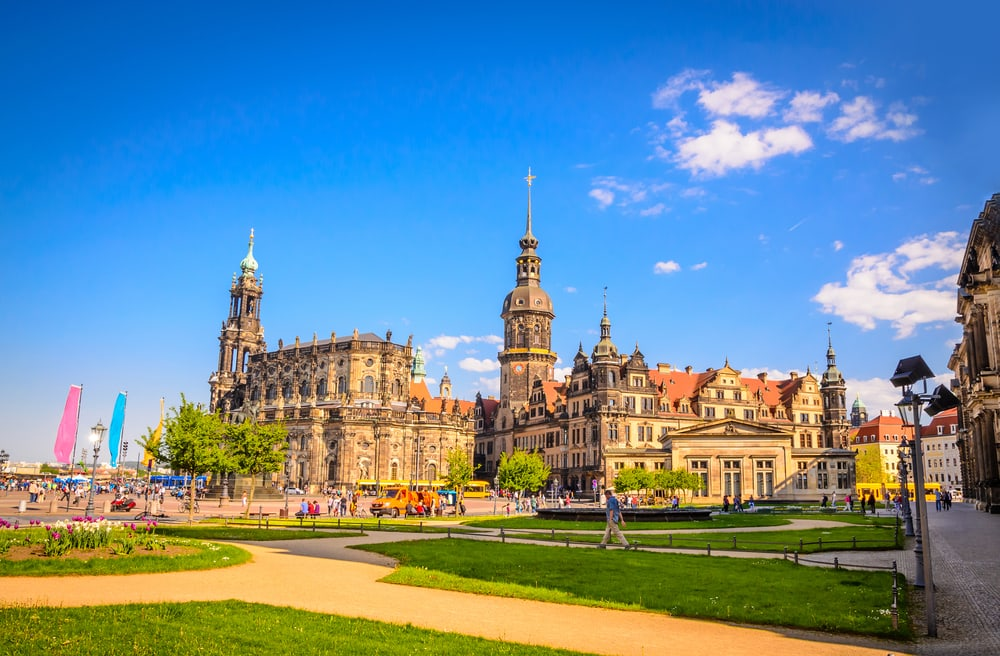 Katedralen i Dresden - Tyskland