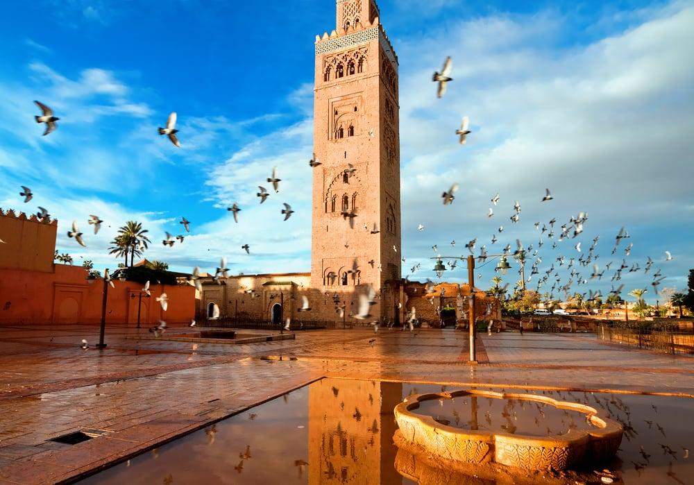 Koutoubia moskeen - Marrakech i Marokko