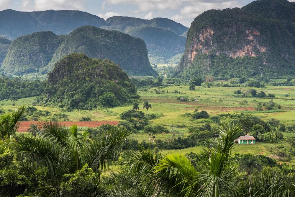 Smukt landskab på Cuba