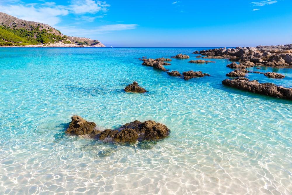 Majorca Cala Agulla - Mallorca i Spanien