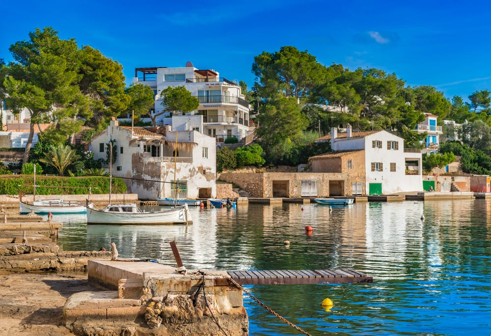 Marinaen i Cala d´Or - Mallorca i Spanien