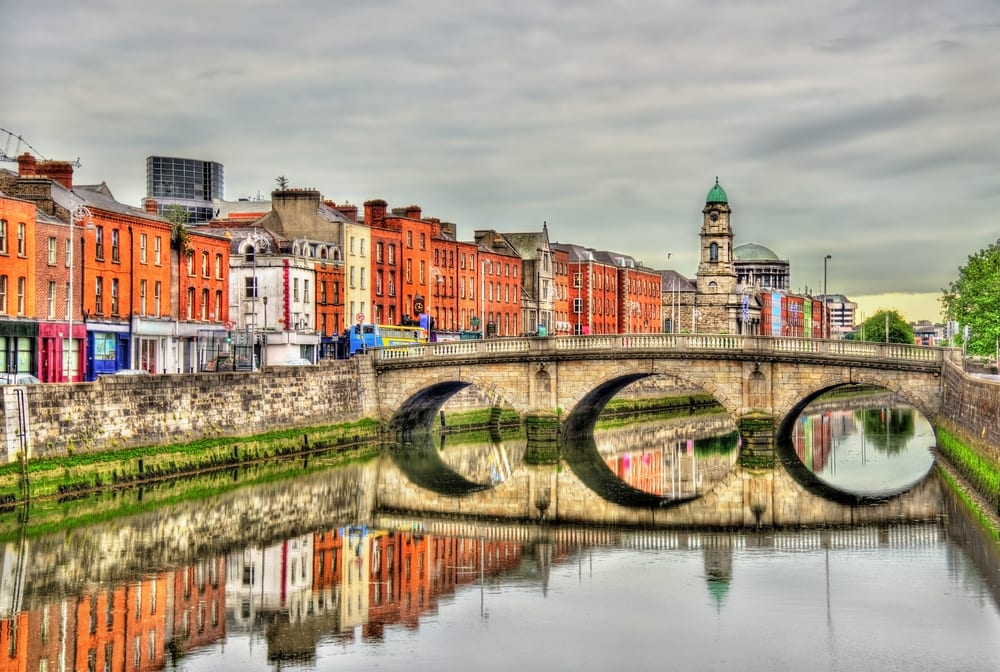 Mellows Bridge - Dublin i Irland