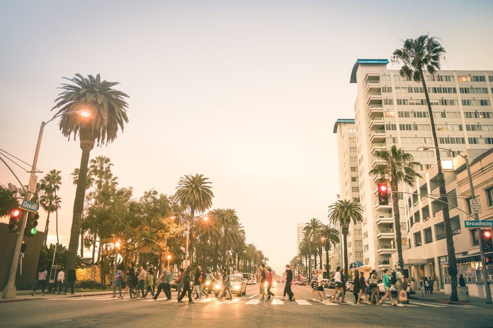 Santa Monica - Los Angeles i Californien - USA