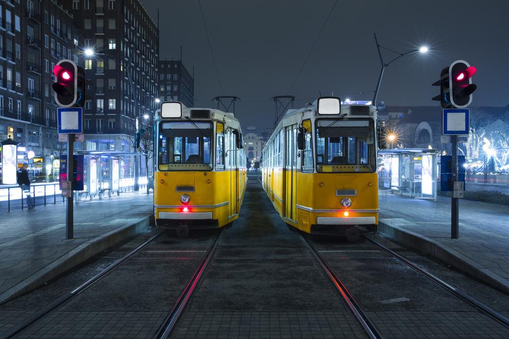 Sporvogne - Budapest i Ungarn